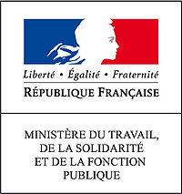 logo Le Ministère du travail, de la solidarité et de la fonction publique